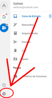Como fazer logout no Hotmail Outlook