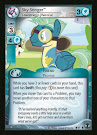 My Little Pony Sky Stinger, Leadership Material Defenders of Equestria CCG Card