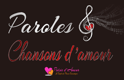 Paroles de chansons d'amour