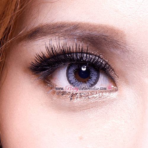 Mi Sunflower Grey Toric Circle Lenses Close-up