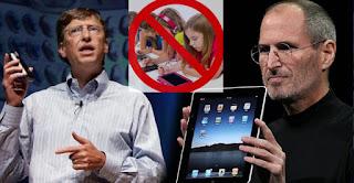 bahaya gadget bagi anak menurut para miliarder