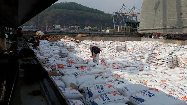 Import Beras Dari Thailand Sebanyak 33.600 TON Masuk Ke Indonesia