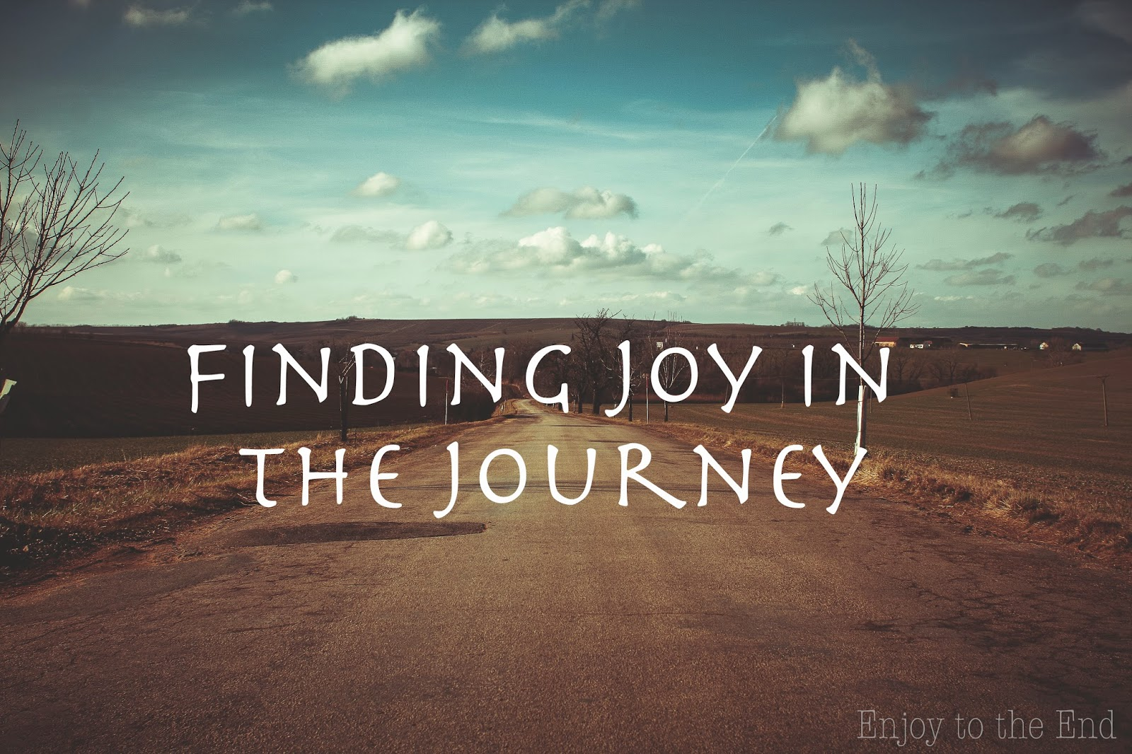 Finding Joy in the Journey - Picture of a road
