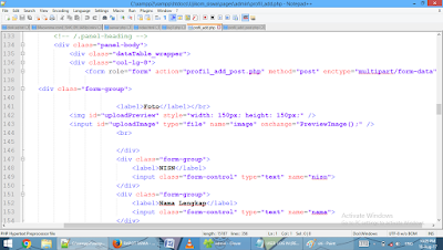 Program Nilai Siswa Berbasis Website Dengan PHP Native dan MYSQL