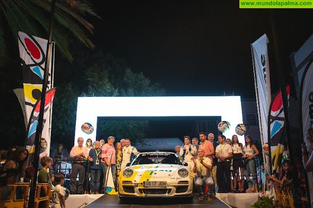 El 45 Rallye de Senderos arranca motores  45 Rallye de Senderos de La Palma