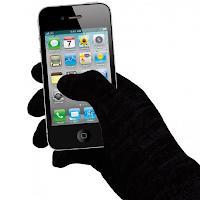 Touchie : des gants avec des fibres conductrices pour écrans tactiles