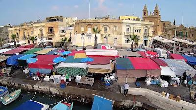 El mercadillo de los domingos de Marsascala, Malta