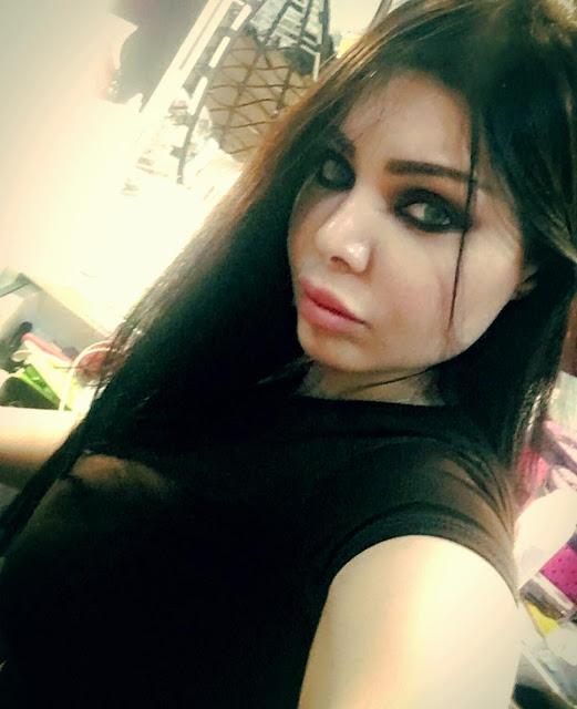 المذيعة العراقية عبير الهاشم شبيهة هيفاء وهبي