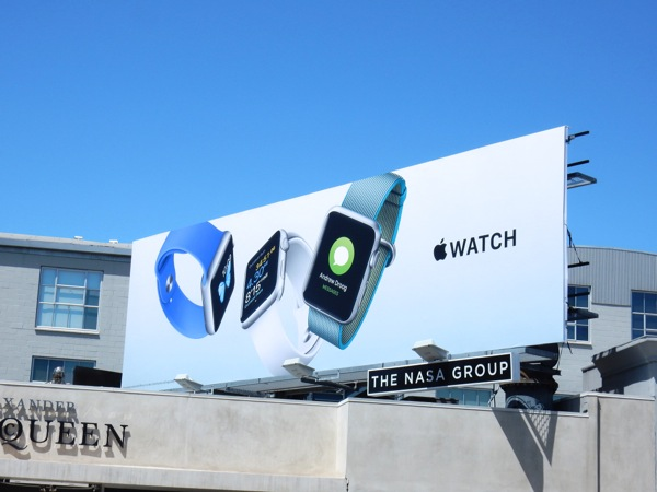 Apple Watch 2nd wave billboard