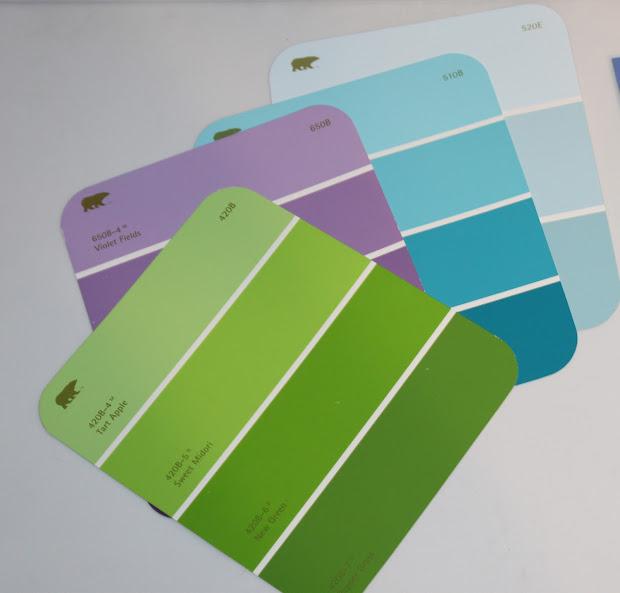 Home Depot Paint Color Samples