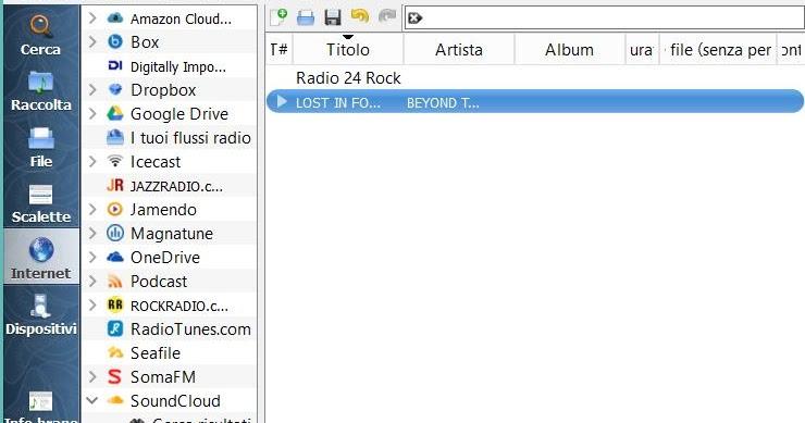 Programmi per ascoltare musica via internet e radio su PC