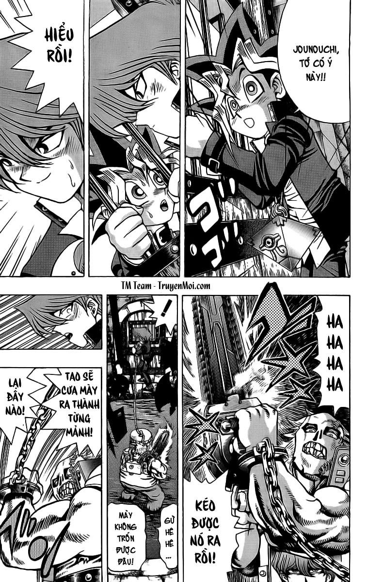 YUGI-OH! chap 32 - trò cưa xích sinh tử trang 17