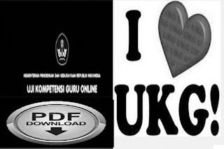 Download Kumpulan Soal UKA/UKG tahun 2015