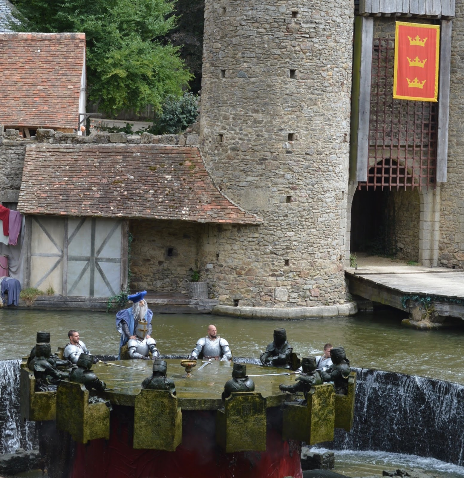 Puy du Fou Theme Park, France - Knights of the round table
