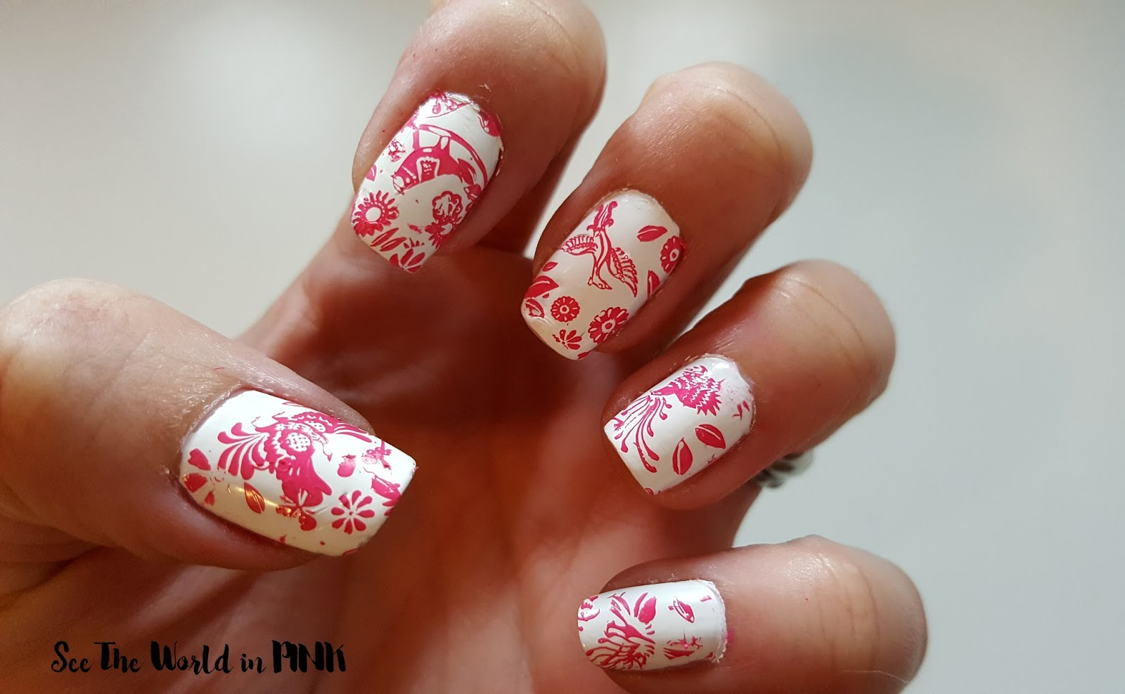 Manicure Tuesday - MoYou London Stamped Nails Week #2