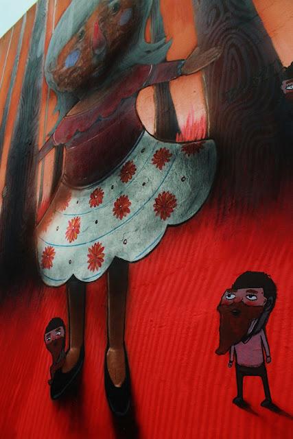 Street Art By Mexican Artist Sens In Queretaro For Board Dripper Urban Art Festival. 6
