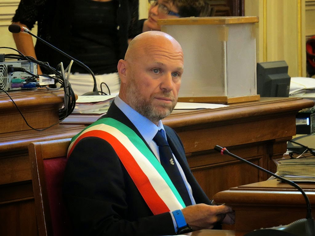 Filippo Nogarin, mayor of Livorno