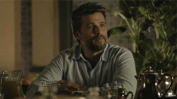 Gabriel garante que vai conseguir enganar Olavo (Imagem: Reprodução/TV Globo)