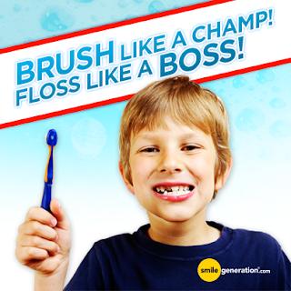 National Children's Dental Health Month smile generation