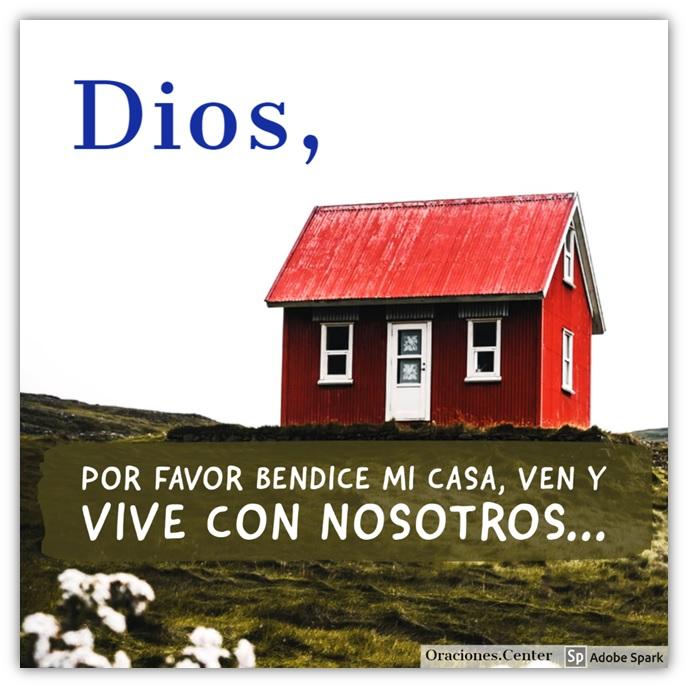 Padre Nuestro - Oración para Bendecir una Casa - Que Dios Habite con Nosotros
