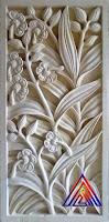 Relief batu alam di jakarta