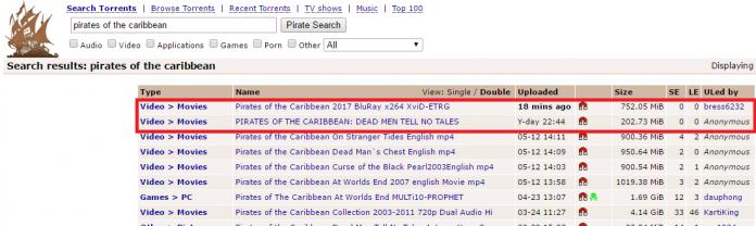 Belum Rilis Pirates Of The Caribbean 5 Dihack, Bocor Di Situs Torrent Dalam Format BluRay