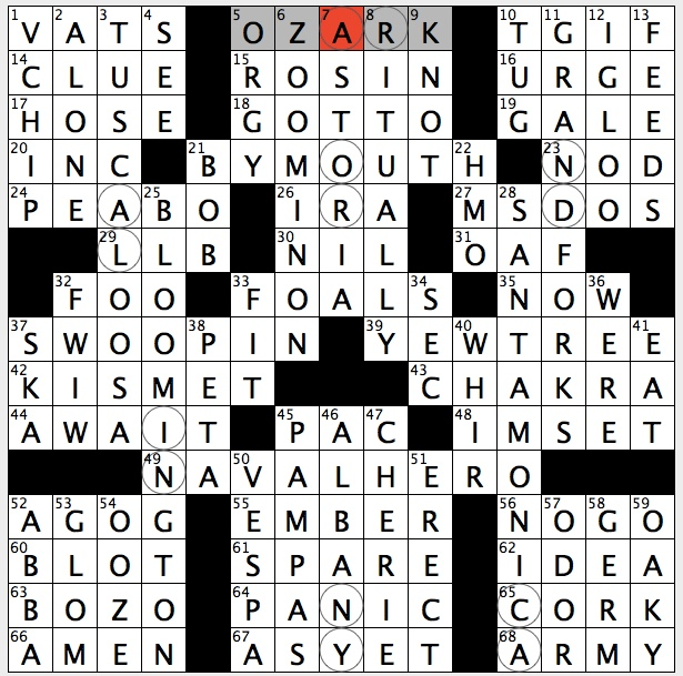 Rex Parker Does The Nyt Crossword Puzzle Windows Precursor Tue 8
