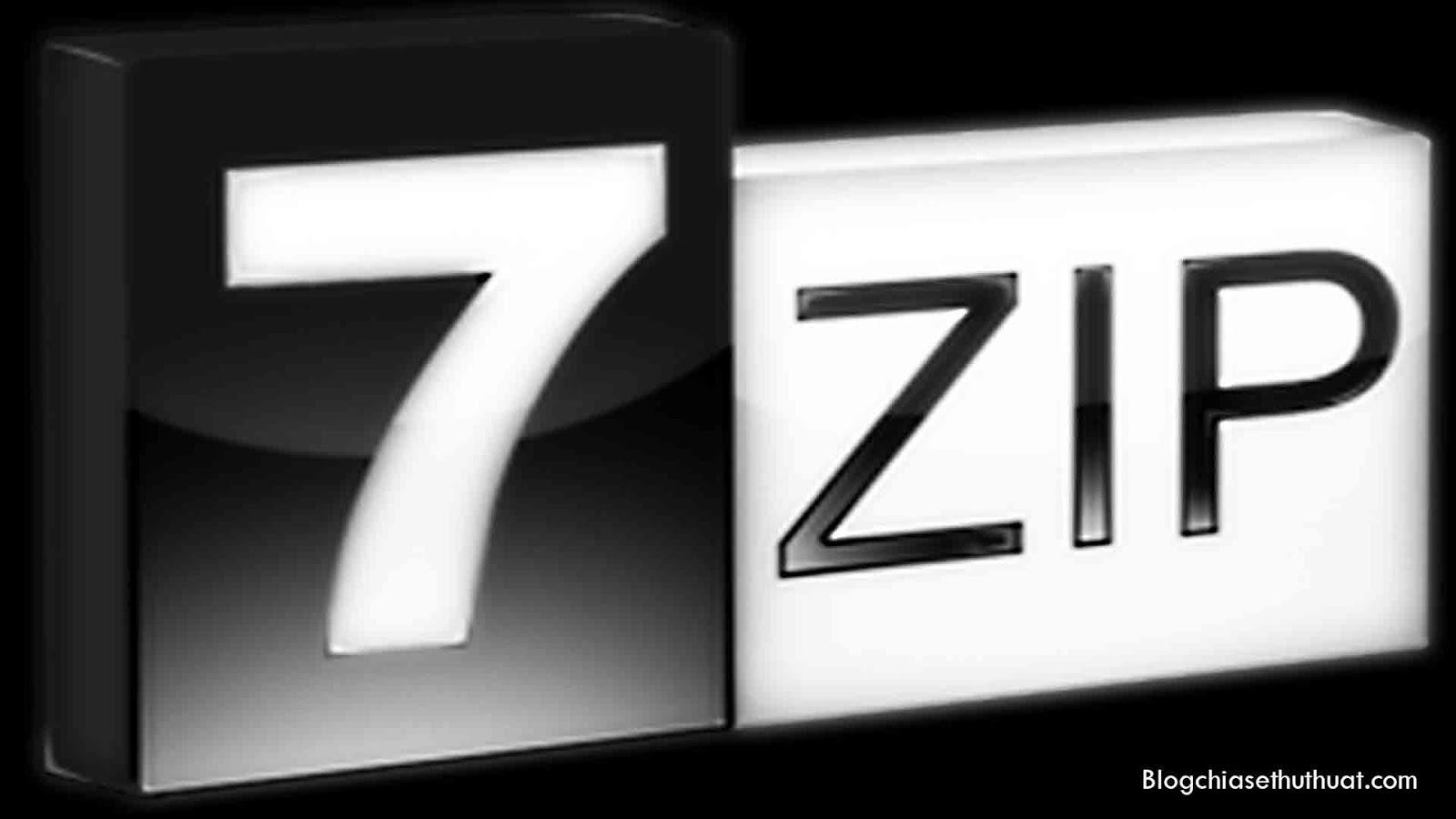 Download 7-Zip 16.04 Final - Phần mềm hỗ trợ nén và giải nén miễn phí