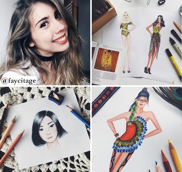 Canais para aprender desenho de moda