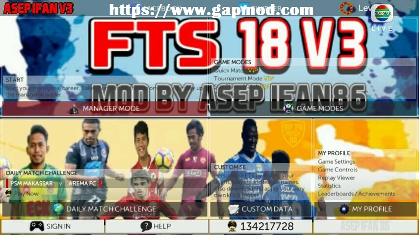 Game Fts 2019 Mod Indonesia