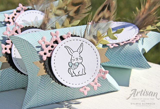 Osterhase Stampin´ Up!-Verpackung