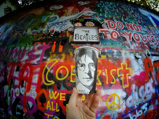 Prague,John Lennon Portrait