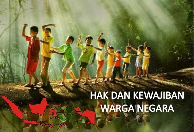 Makalah Hak Dan Kewajiban Warga Negara Makalah Bahasa Indonesia