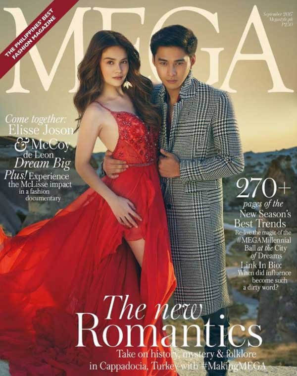 McLisse on the cover of Mega Man Magazine September 2017 issue