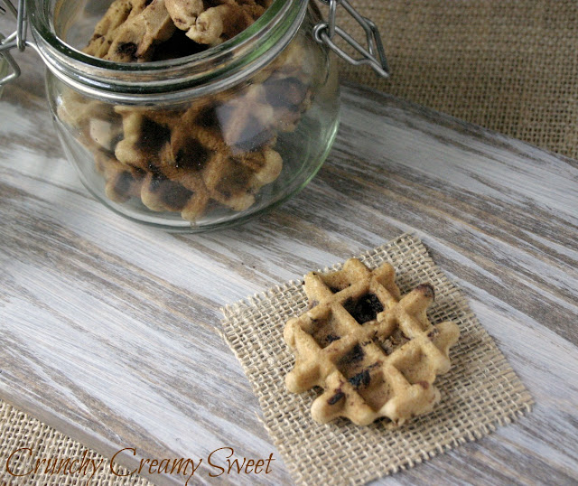 waffle+CCC+2 CCC Monday: Waffle Chocolate Chunk Cookies