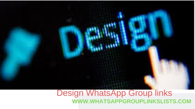 Join Design WhatsApp Group Links List