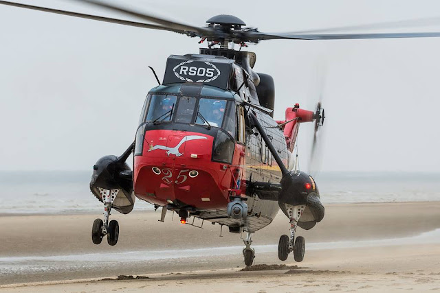 Belgian Sea King final flight
