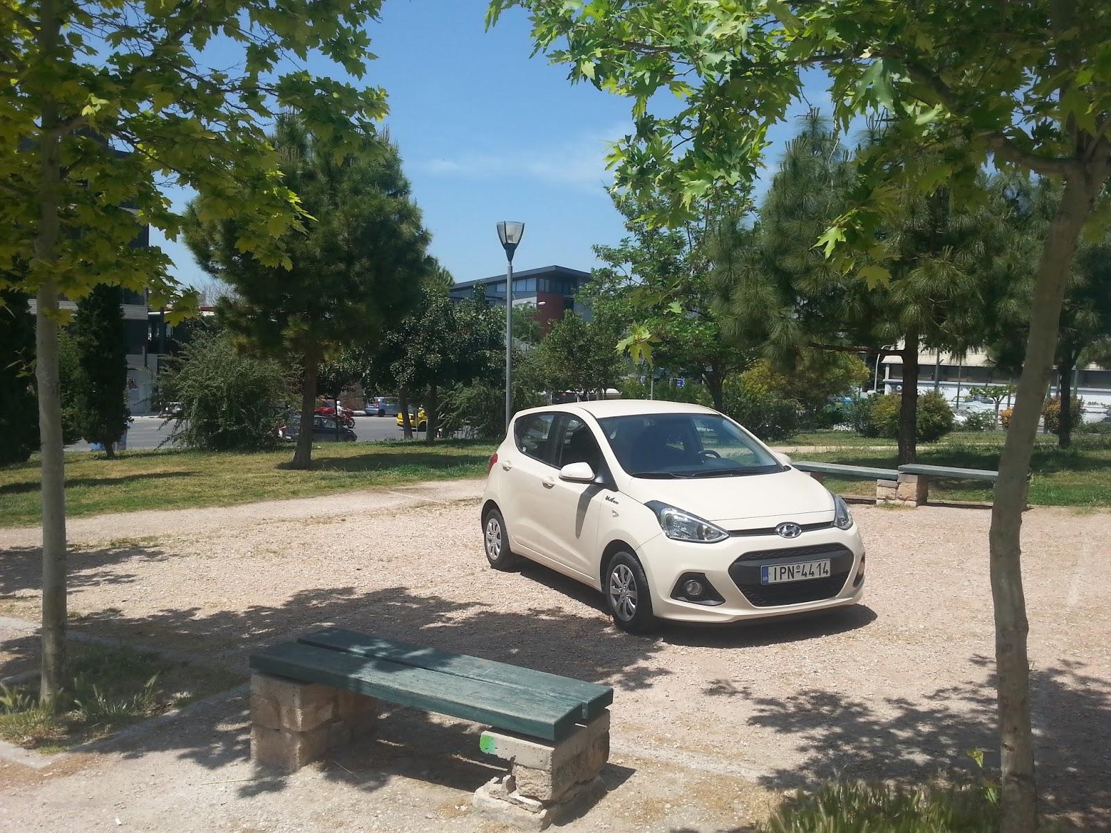 f1 Οδηγούμε το Hyundai i10 Blue Drive 1,0