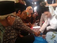 Pasangan Korban Persekusi di Cikupa Tangerang Akhirnya Menikah, Begini Ekspresi Keduanya Usai Akad