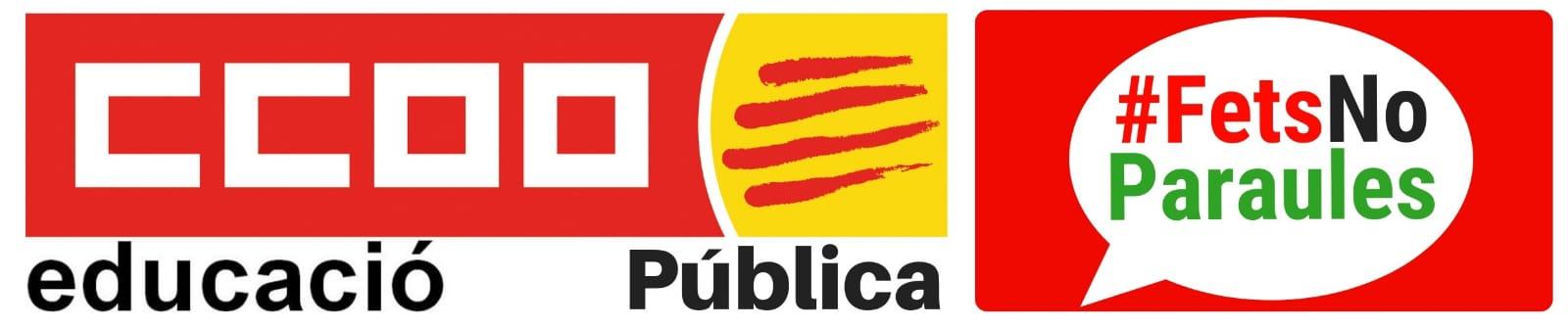 CCOO Educació Pública