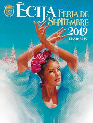 Écija - Feria 2019 - Bailando al Sol - Ángel García Palacio