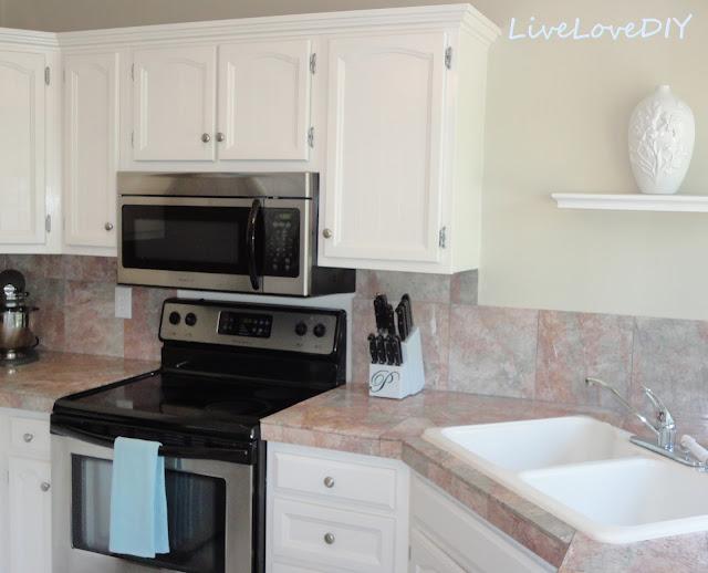 Livelovediy The Chalkboard Paint Kitchen Cabinet Makeover