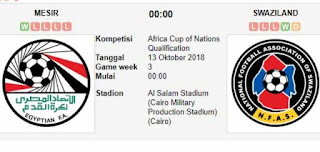 Watch Egypt vs Swaziland live Streaming Today 12-10-2018 Predictions , Betting Tips