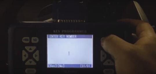 Enter key number