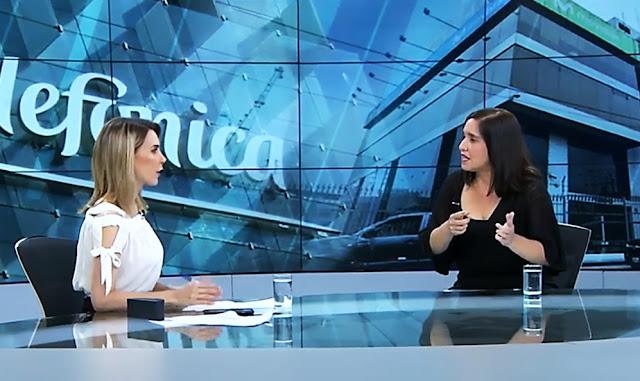 Silvana Castagnola en el programa de Punto Final, denunció el encubrimiento de información al fiscal José Domingo Pérez