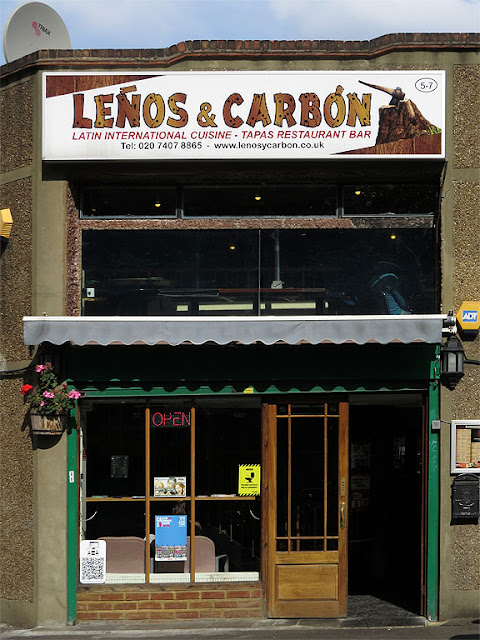 """Leños & Carbón, Colombian restaurant, Elephant Road, Elephant and Castle, Southwark, London"
