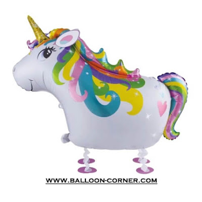 Balon Foil Airwalker UNICORN
