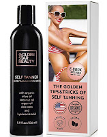 Self Tanner - Sunless Tanning Lotion by Golden Star Beauty
