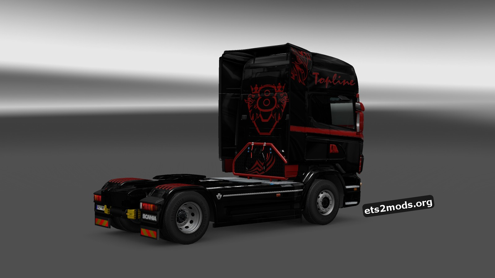 Black Devil Skin for Scania RJL
