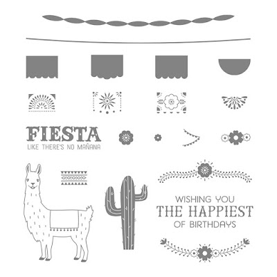 Birthday Fiesta Photopolymer Stamp Set